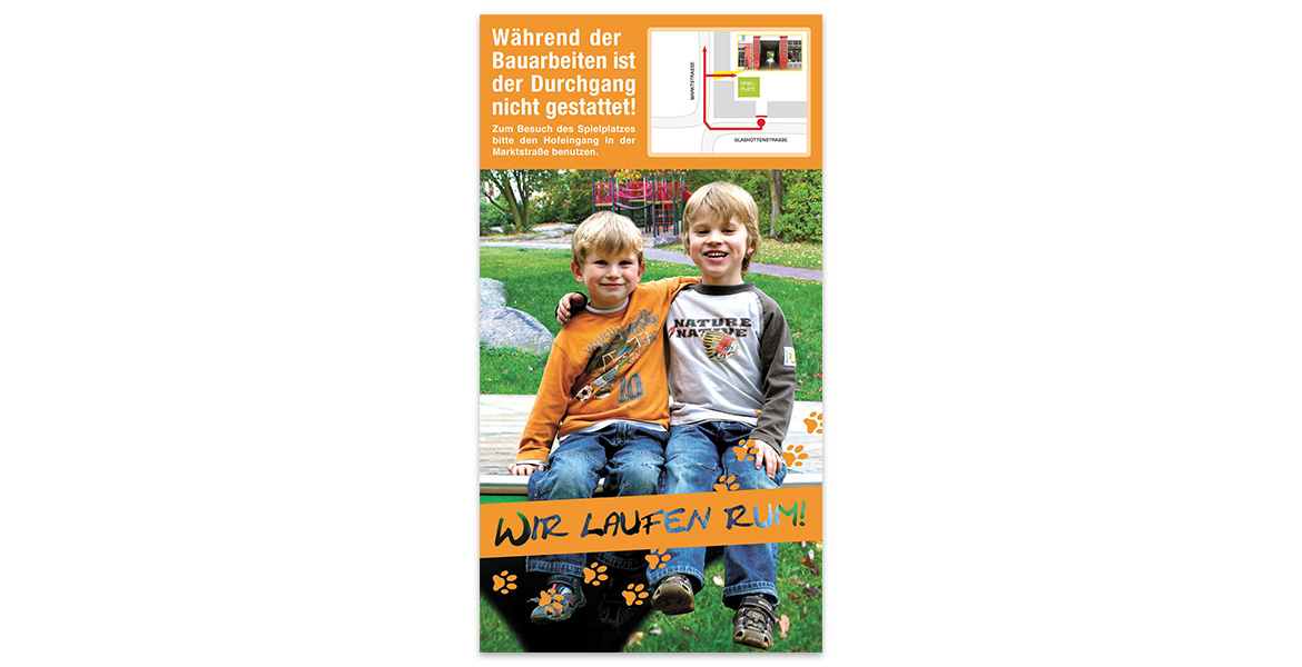 bauschild kinder 2